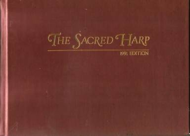 Image of the cover of the 1991 Denson revision of the Sacred Harp.